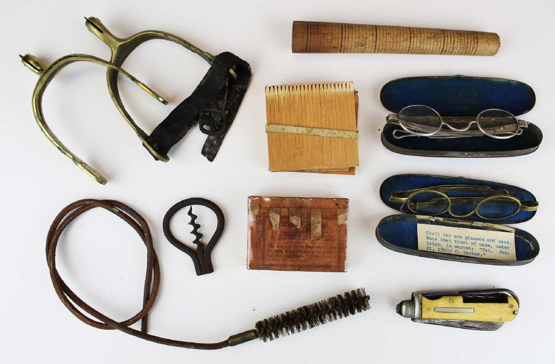 Civil War era soldier's accoutrements