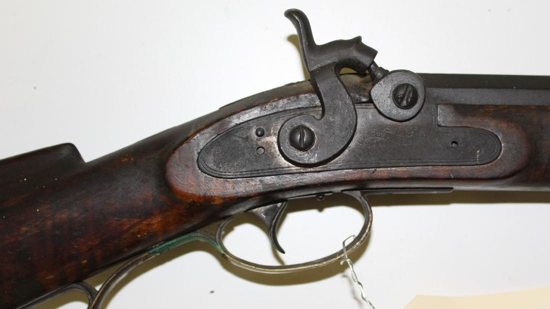 Circa 1840 G Goulcher .44 Caliber rifle