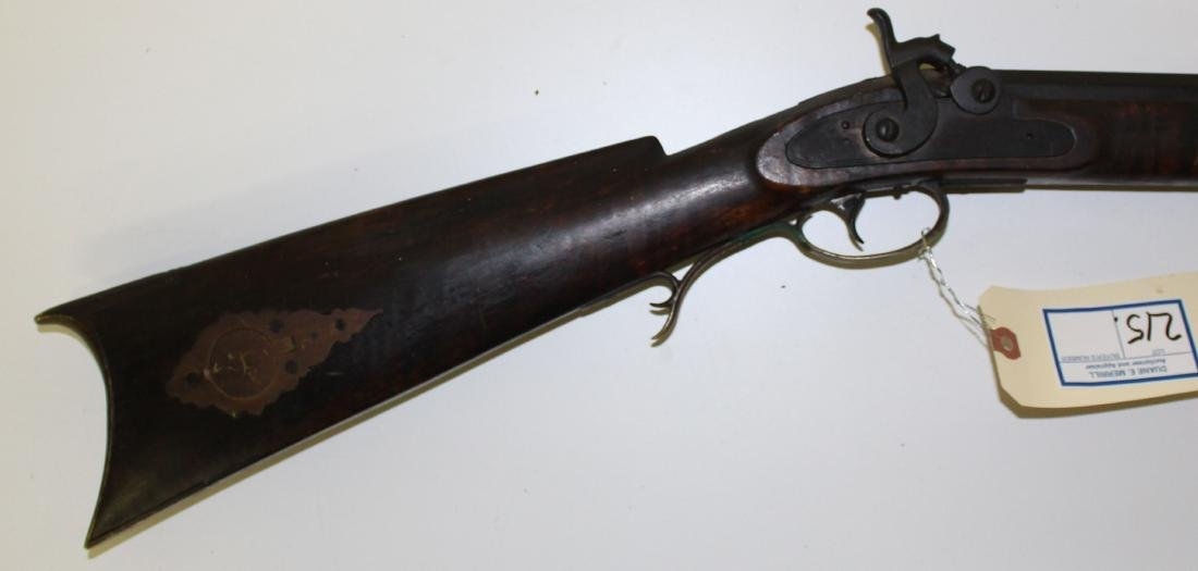 Circa 1840 G Goulcher .44 Caliber rifle - 3