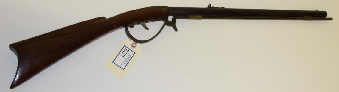 Circa 1900 Underhammer rifle