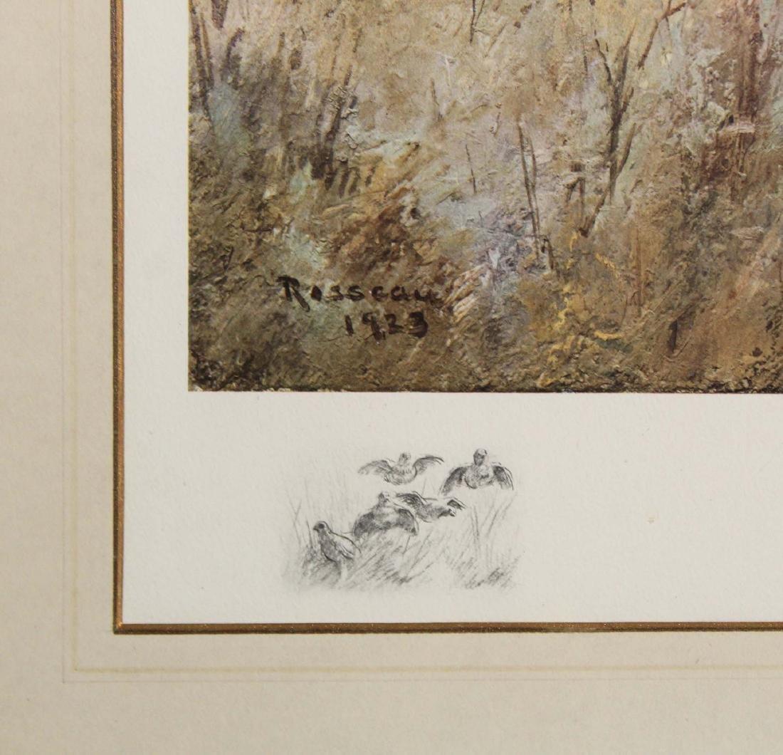Percival Rosseau (AM 1859-1937) Sporting dogs - 2