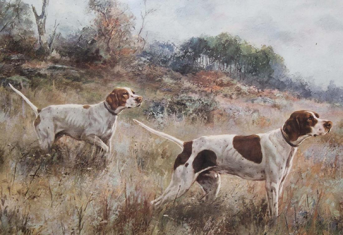 Percival Rosseau (AM 1859-1937) Sporting dogs - 3