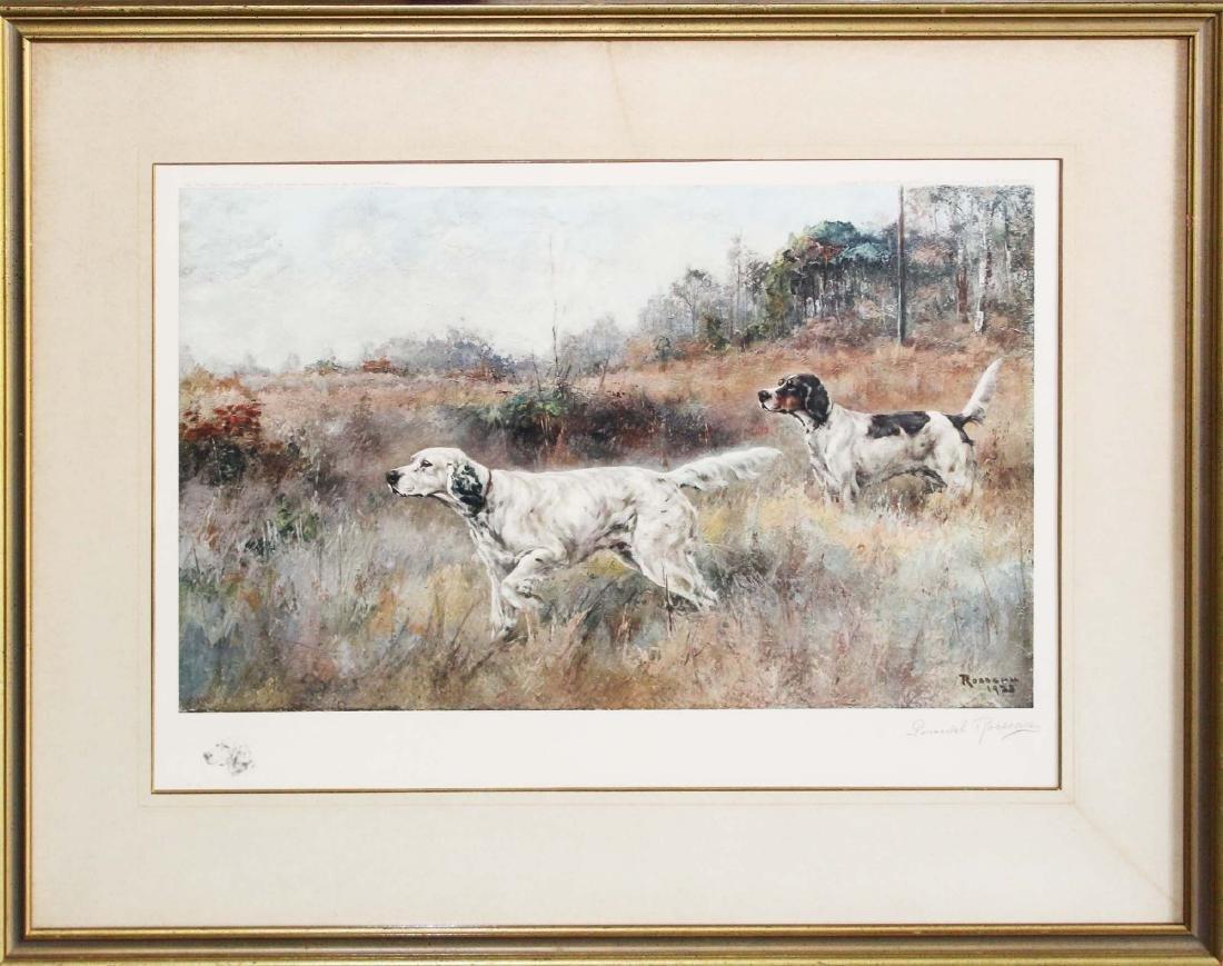 Percival Rosseau (AM 1859-1937) Sporting dogs - 4