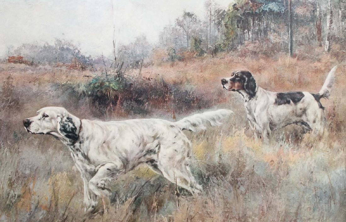 Percival Rosseau (AM 1859-1937) Sporting dogs - 6