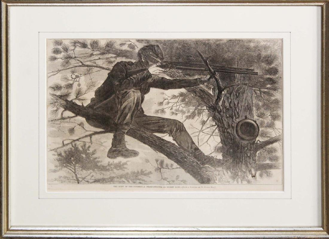 Winslow Homer -Sharpshooter The Army of the Potomac
