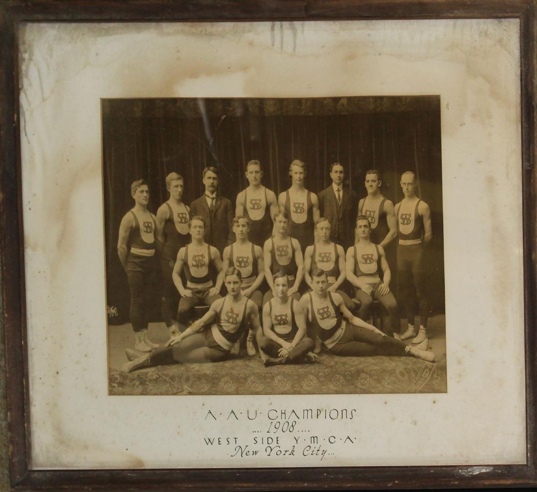 1908 Amatuer Athletics Union Championship Photo