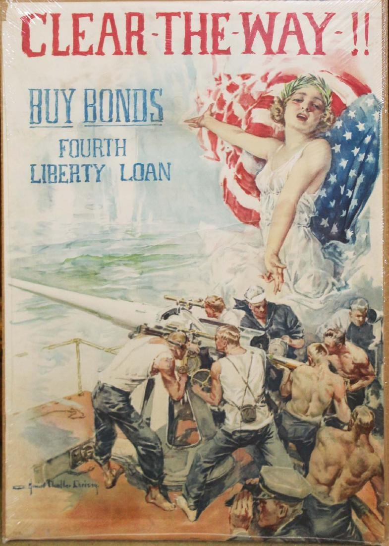 WWI Howard Chandler Christie bond poster