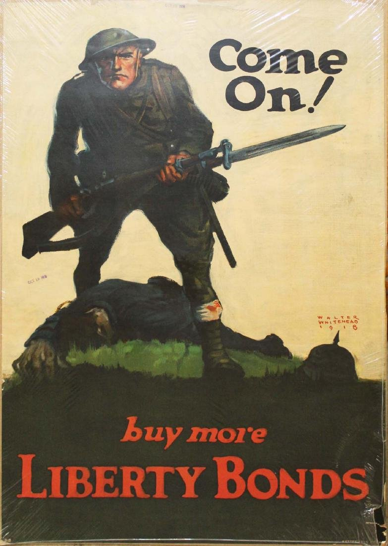 WWI Whitehead & Young bond poster