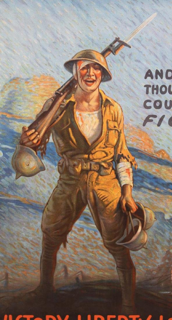 WWI Clyde Forsythe Liberty Loan poster - 3