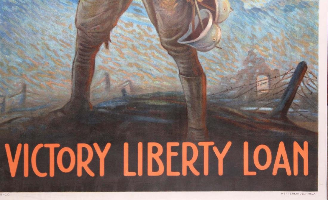 WWI Clyde Forsythe Liberty Loan poster - 4