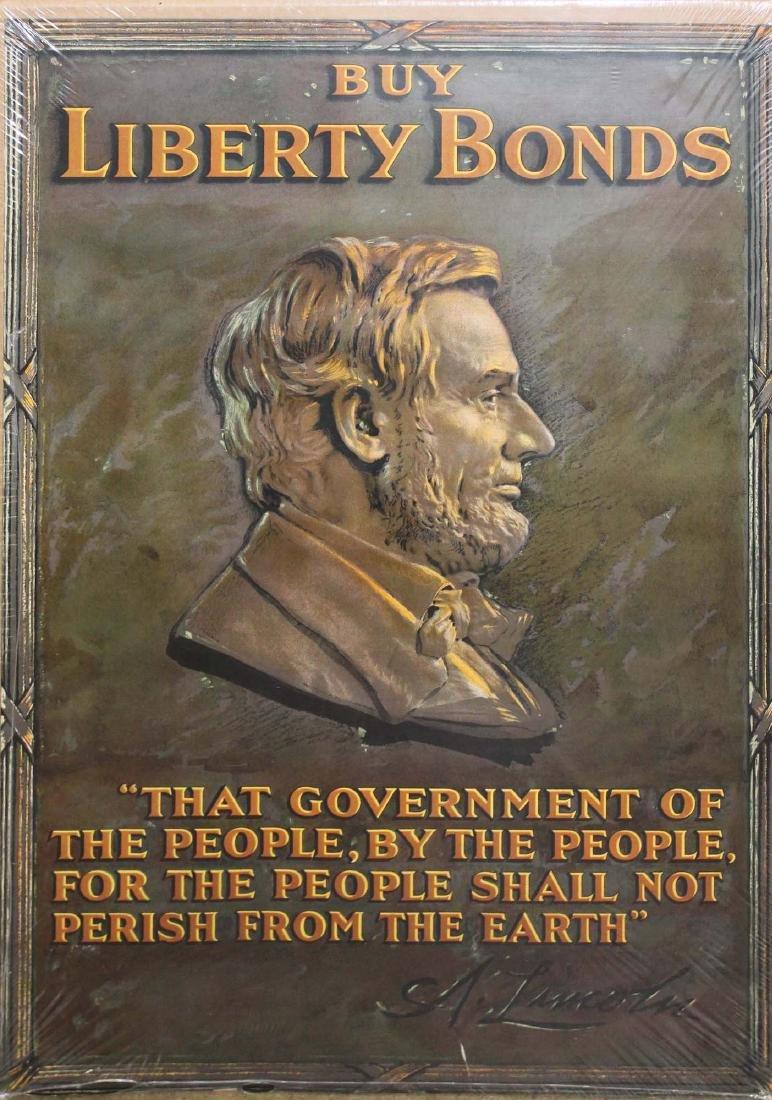 five WWI Liberty bond posters - 3