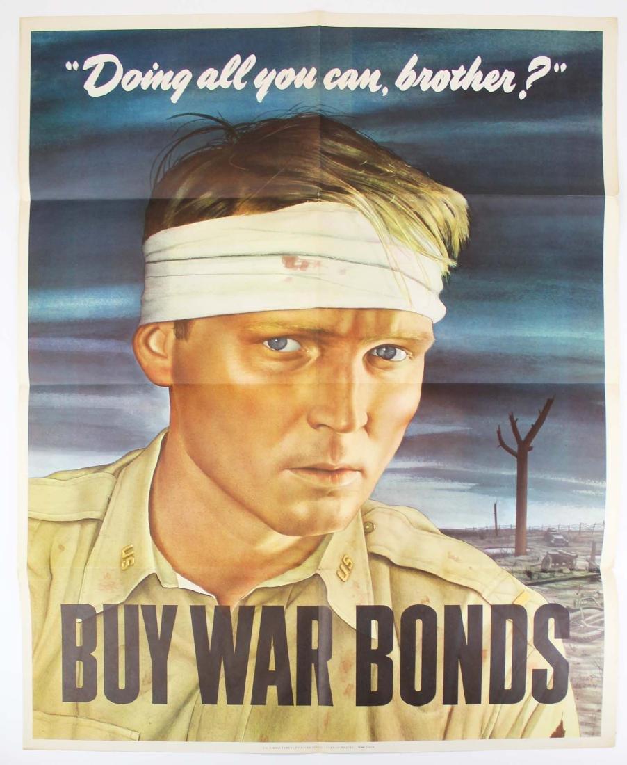 WWII Robert E. Sloan bond poster