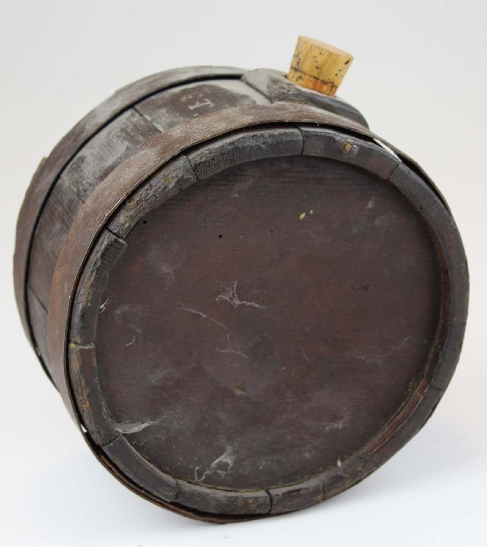 1810 wooden oak stave canteen - 3