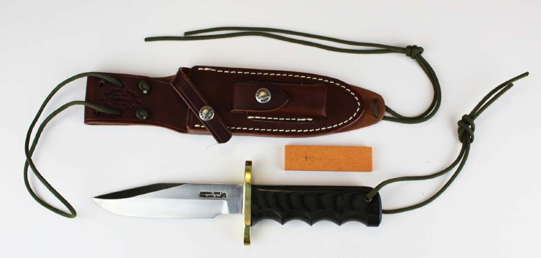 Randall Model 14 attack knife