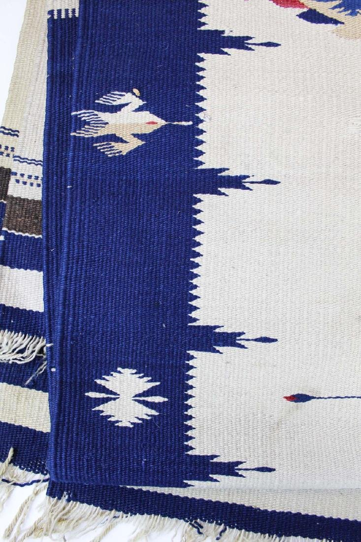 mid 20th c Southwest blanket - 5