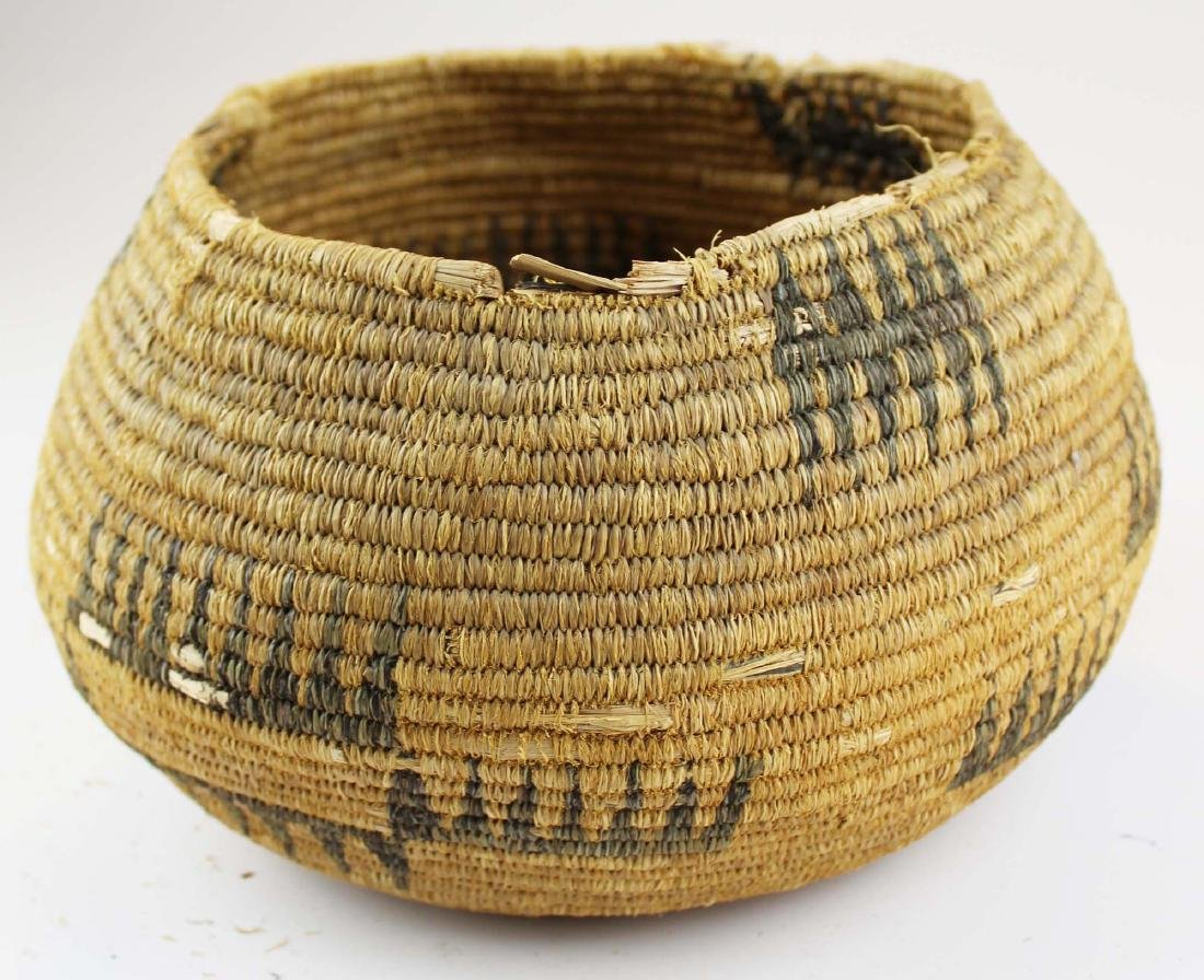 early 20th c Southwest basket - 5