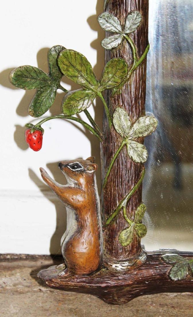 Carver's Guild Strawberry Thief artesan mirror - 3