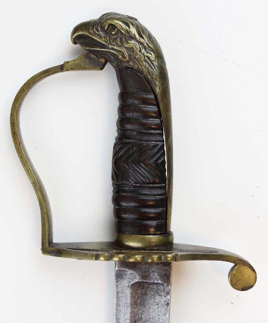 early 19th c American eagle pommel sword