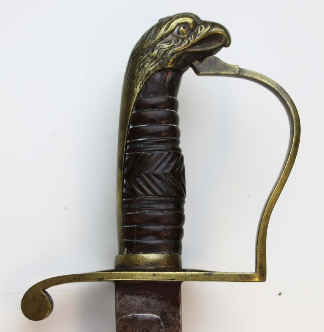 early 19th c American eagle pommel sword - 2