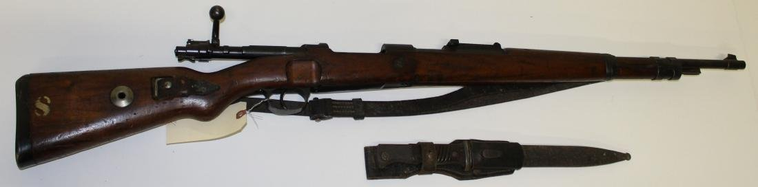 German WWII Era K-98k Mauser rifle