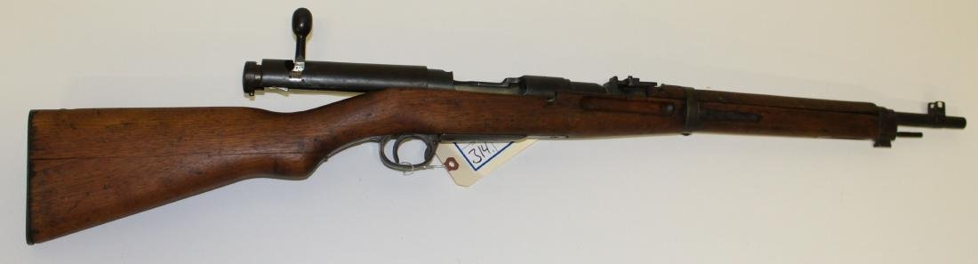 Japanese Type 38 Arisaka Rifle in 6.5mm