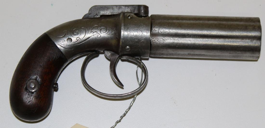 Allen and Wheelock Pepperbox pistol in .32 cal