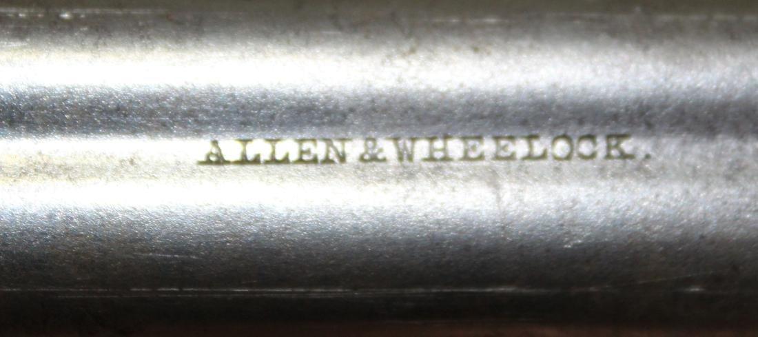 Allen and Wheelock Pepperbox pistol in .32 cal - 3