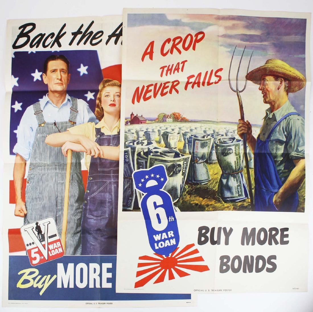 two WWII home front propaganda posters