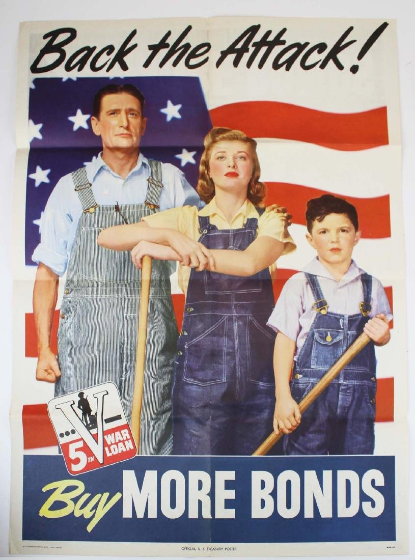 two WWII home front propaganda posters - 3