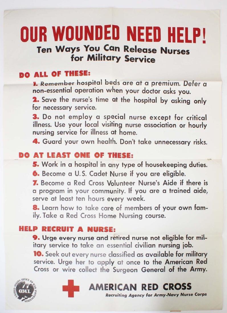seven WWII information/ propaganda  posters - 3