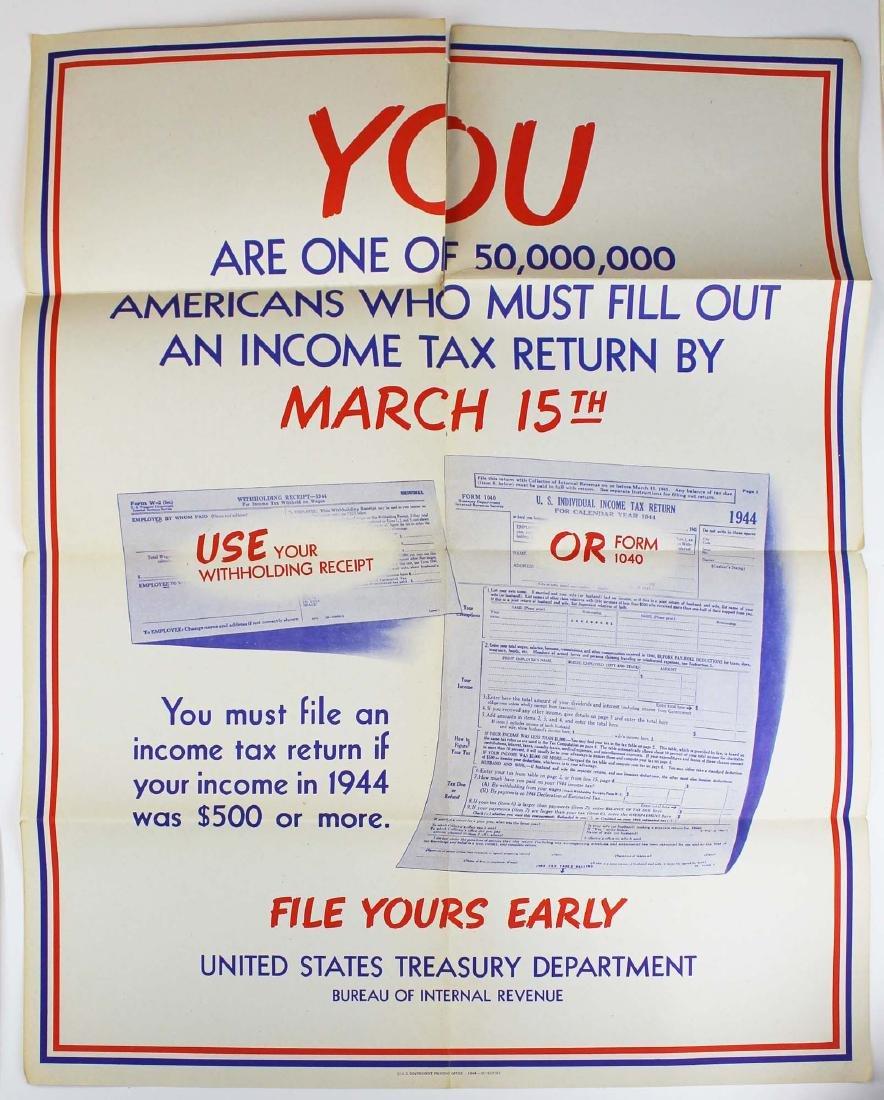 seven WWII information/ propaganda  posters - 4