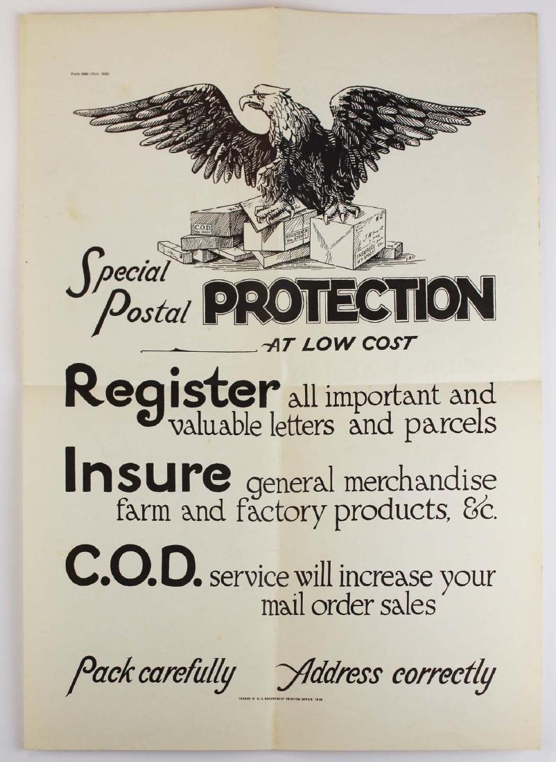 seven WWII information/ propaganda  posters - 9