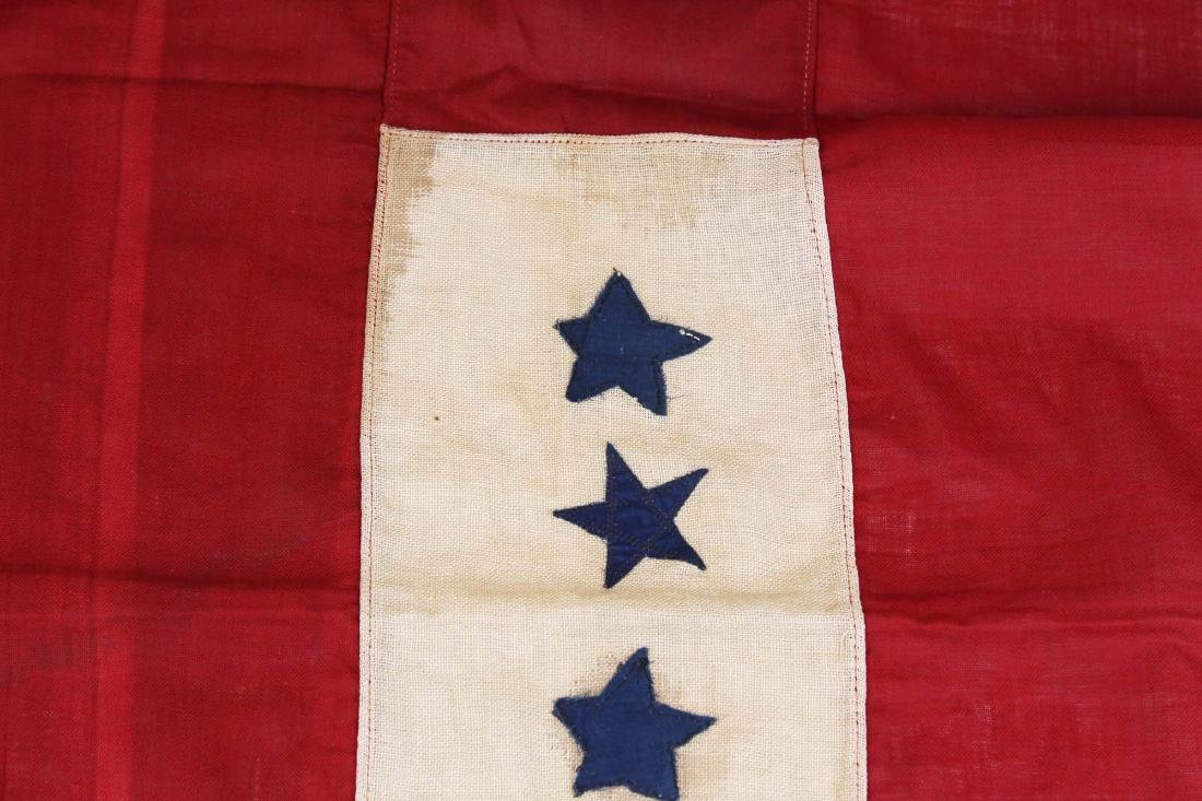 WWI US blue star service flag window banner - 4