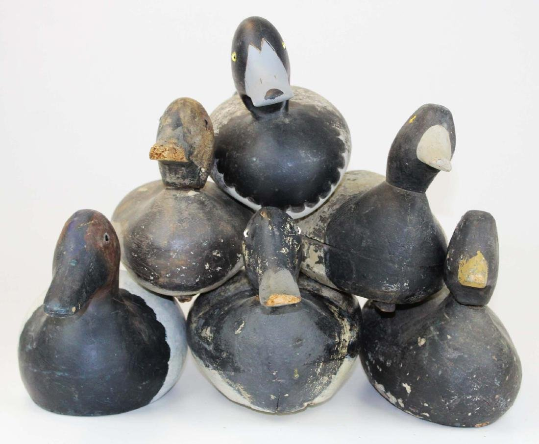 Group of 6 Factory decoys including Mason