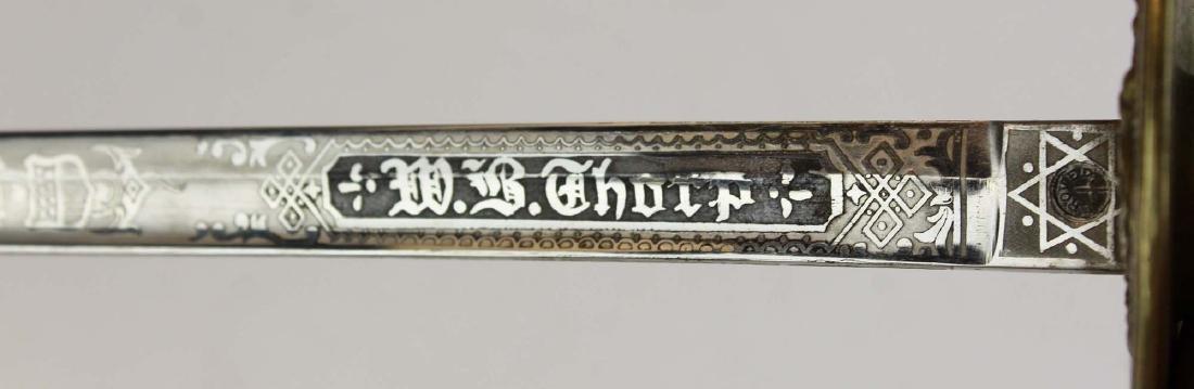 1930's US Navy officer's ceremonial sword - 5