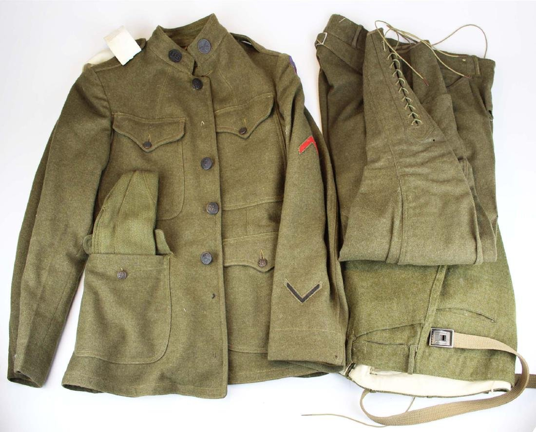 WWI US Army uniform