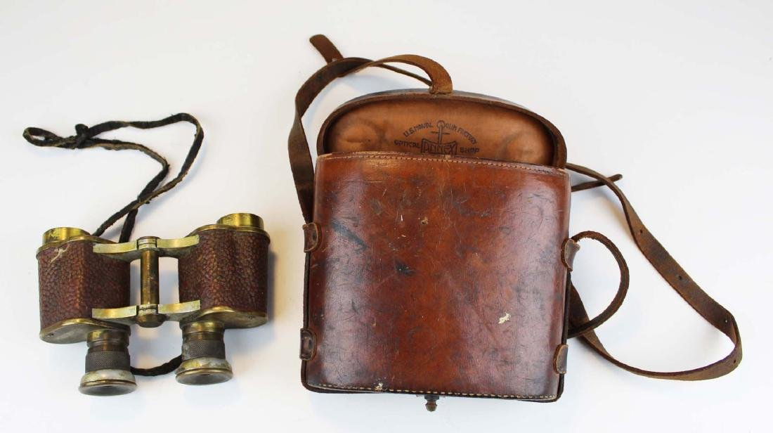 WWI US Navy Crown Optical Co. binoculars