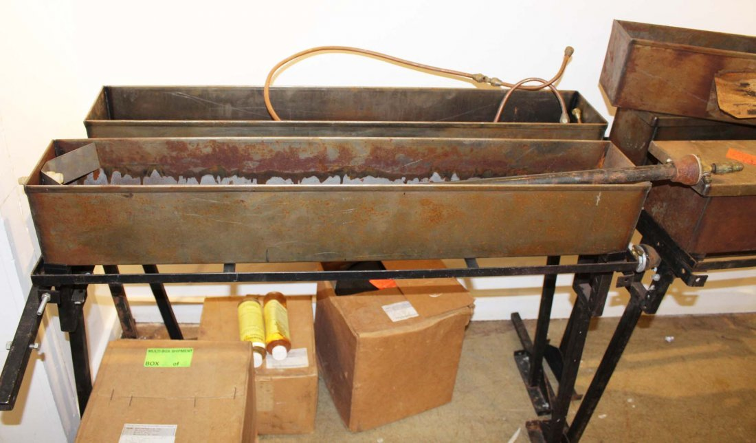 Brownell 5 tank hot bluing & cleaning rig - 2
