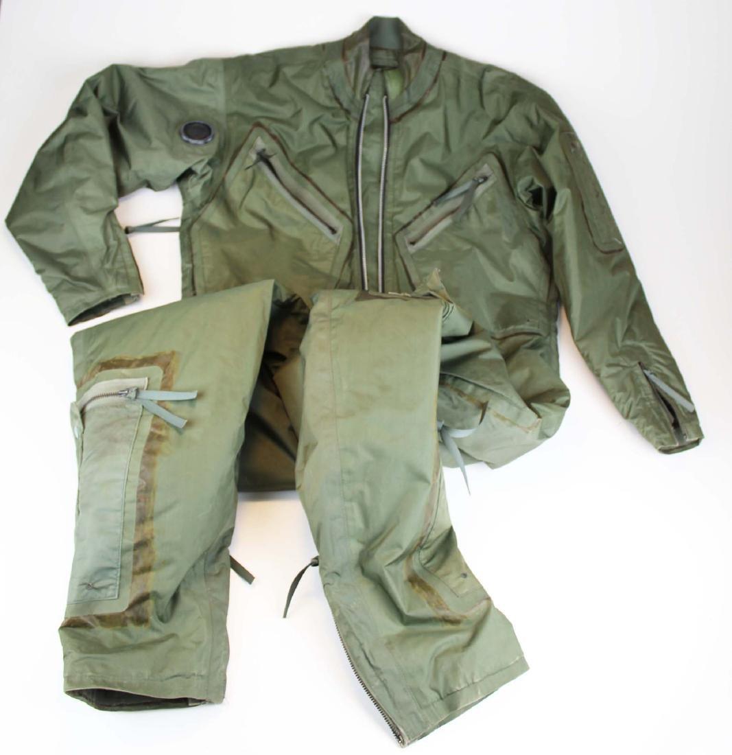 US Vietnam War era F-4 pilot exposure suit