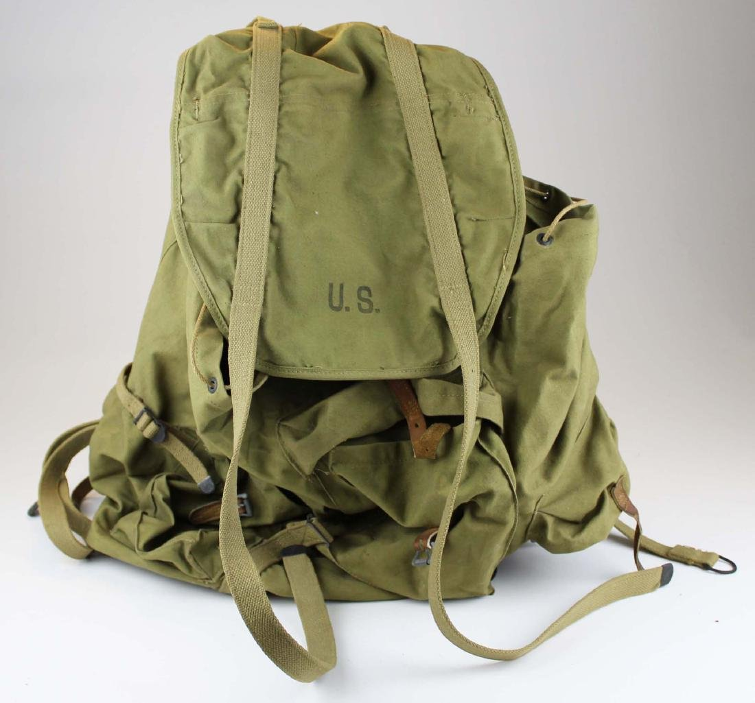 WWII US Army external frame backpack