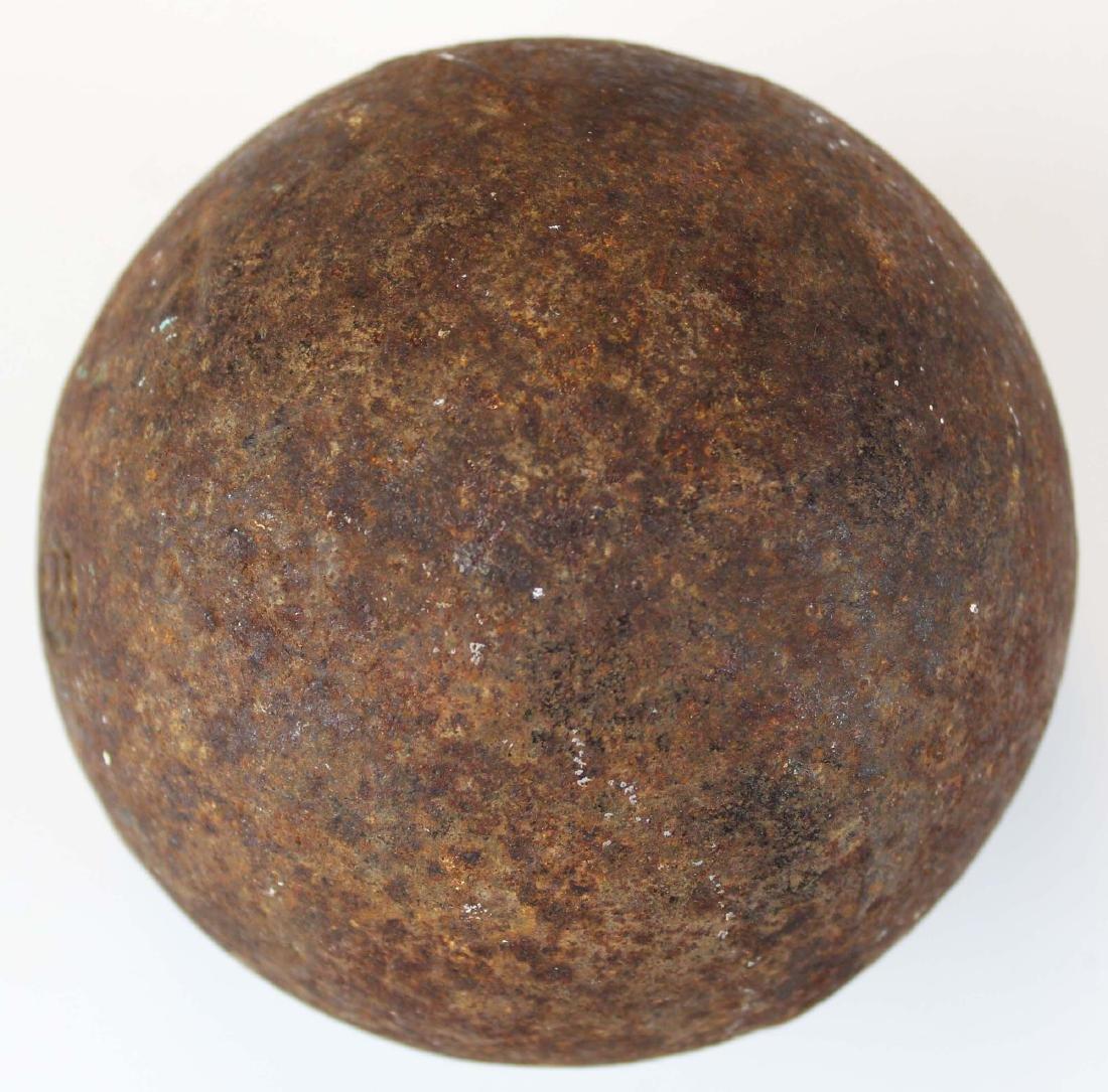 vintage cast iron 12 pound shot put - 2