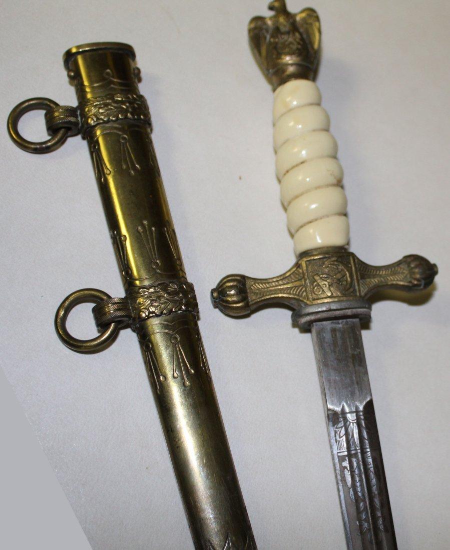 German WWII Naval Dagger - 4