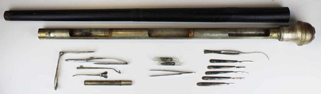 Early 20th c surgical / medical cane - 12