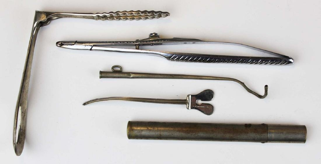 Early 20th c surgical / medical cane - 6