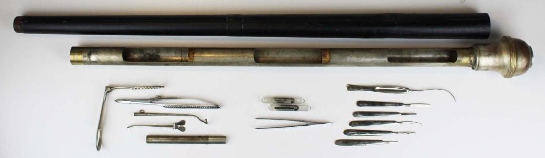 Early 20th c surgical / medical cane - 9