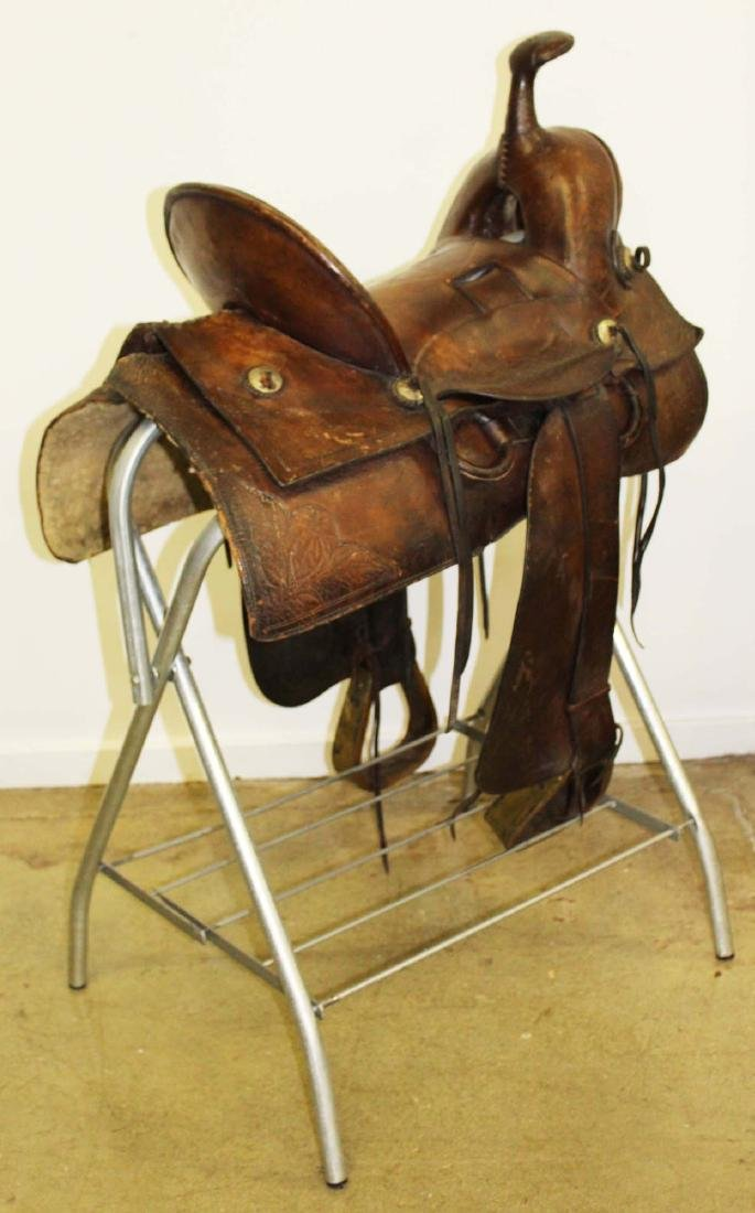 ca 1910 Great West Saddlery Co. saddle