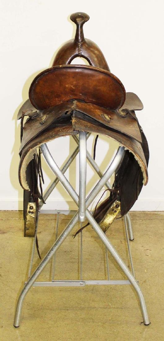 ca 1910 Great West Saddlery Co. saddle - 2