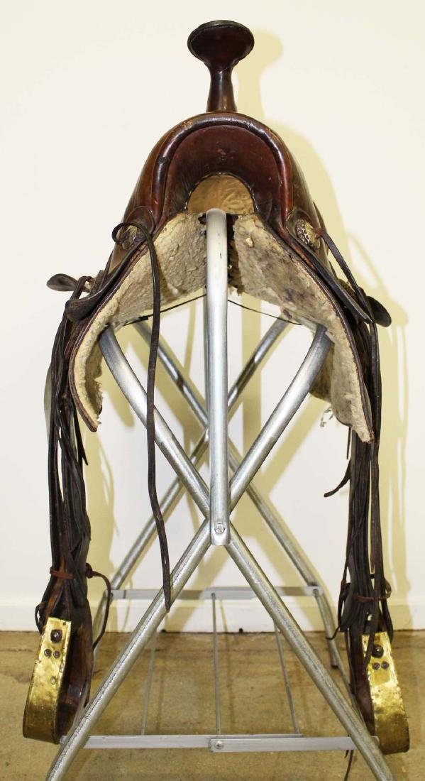 ca 1910 Great West Saddlery Co. saddle - 4