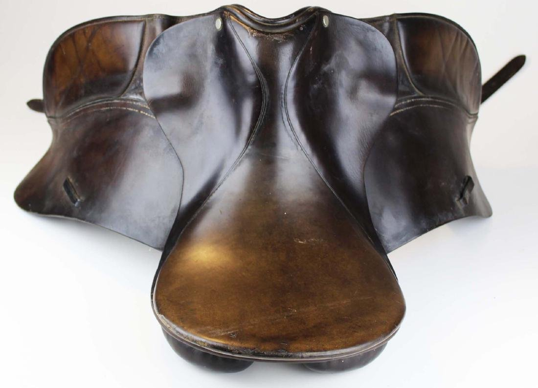 mid 20th c English dressage saddle