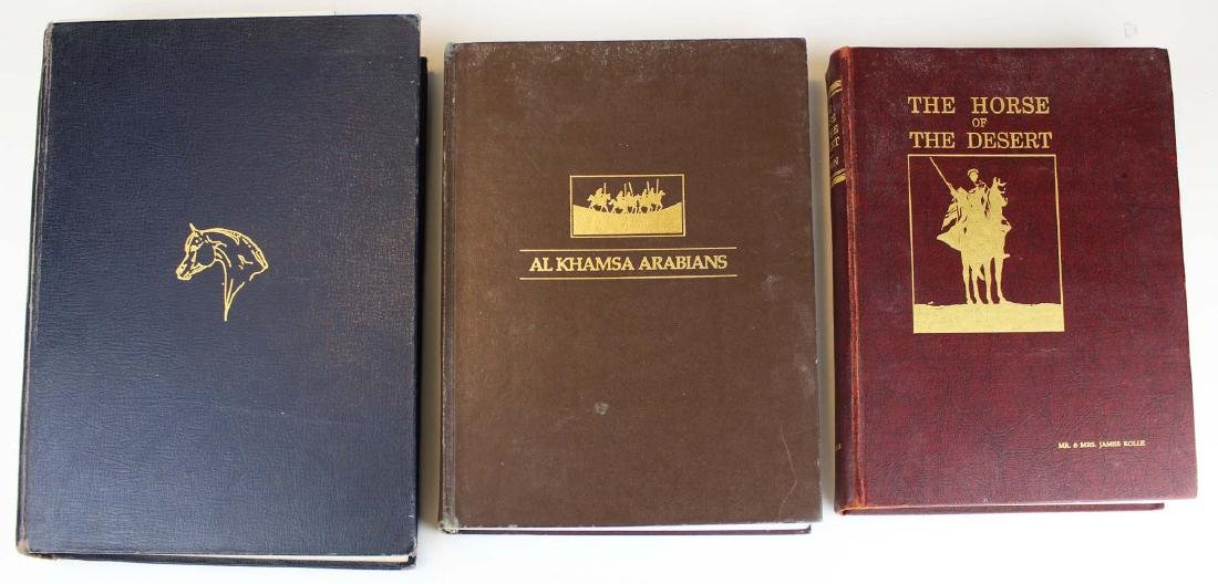 three reference books on Arabian horses - 2
